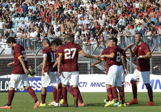 La Roma batte 3-1 l'Indonesia U23 in amichevole
