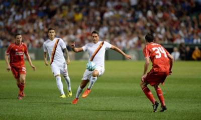 La Roma batte il Liverpool per 1-0 in amichevole