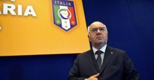 Italia: Carlo Tavecchio, presidente della Figc