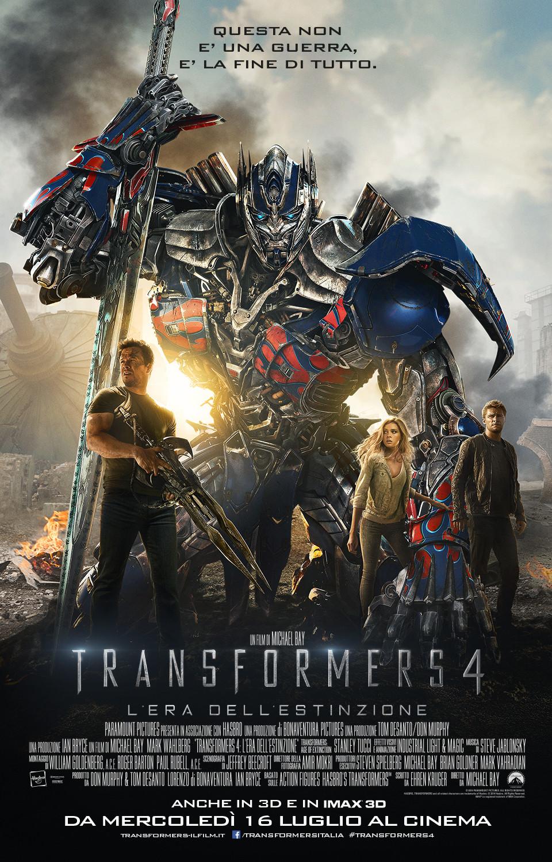 Transformers 4 – L'era dell'estinzione streaming ITA 2014