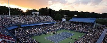 Nella foto: l'impianto tennistico che ospiterà l'ATP di Washington