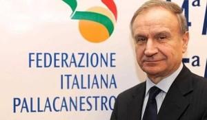 Gianni Petrucci, presidente della FIP dal 2013, incarico già ricoperto dal 1992 al 1999