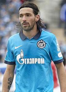 Il fantasista dello Zenit, Miguel Danny, ha siglato - ieri - il gol che è valso la qualificazione al suo club