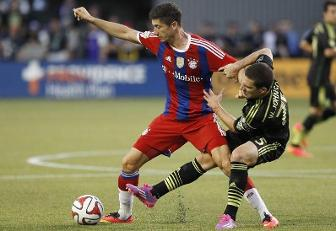 MLS All stars-Bayern Monaco