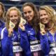Azzurre d'oro nei 4x200 sl agli Europei di Berlino 2014