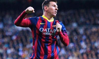Lionel Messi ancora in gol in Champions League.
