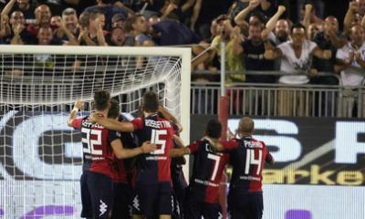 Il Cagliari supera il Catania per 2-0 in Coppa Italia