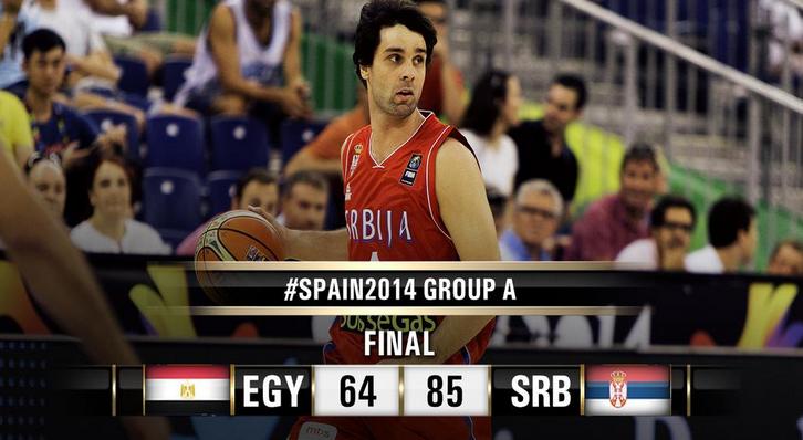 Egitto-Serbia 64-85, Mondiali FIBA