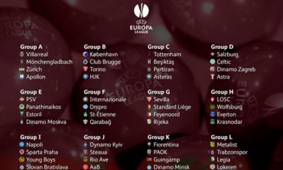Gironi Europa Legue