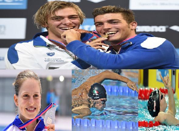 BLN 2014, medaglie Italia 22 agosto