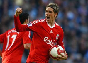 Fernando Torres ai tempi del Liverpool