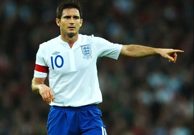 Frank Lampard con la maglia della nazionale inglese