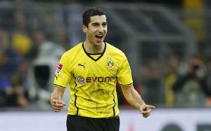 Mkhitaryan, protagonista nella vittoria del Borussia Dortmund