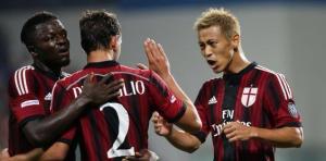 Honda, a segno contro la Juventus e nominato MVP del torneo