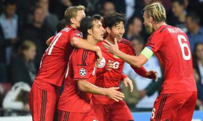 Il Leverkusen batte 3-2 il Copenaghen nell'andata dei playoff di Champions