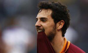 Mattia Destro, attaccante della Roma, potrebbe non essere la scelta giusta per questa giornata di fantacalcio
