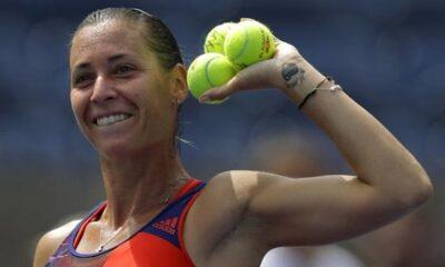 Flavia Pennetta, tennista brindisa, giocherà gli ottavi di finale dello US Open