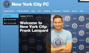 Nuova avventura negli States per Frank Lampard, ma prima tappa al Manchester City di Manuel Pellegrini