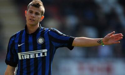 Samuele Longo, attaccante dell'Inter in prestito al Cagliari