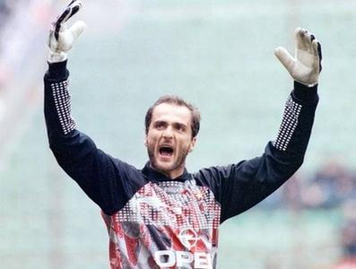 Sebastiano Rossi ai tempi del Milan