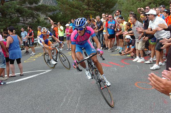 Winner Anacona, vincitore della nona tappa della Vuelta 2014