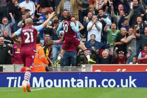 L'Aston Villa batte lo Stoke nella prima giornata di Premier League