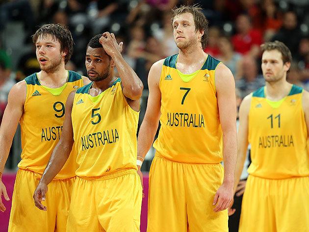 La Nazionale australiana di Basket