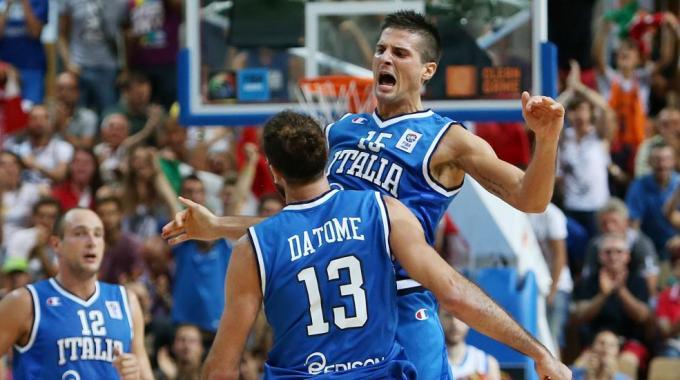 Italia scatenata, ieri sera, contro la Serbia