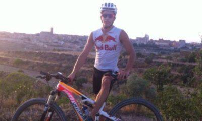 Marc Marquez bici allenamento
