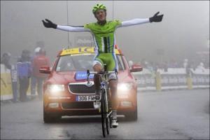 Alessandro De Marchi, vincitore della settima tappa