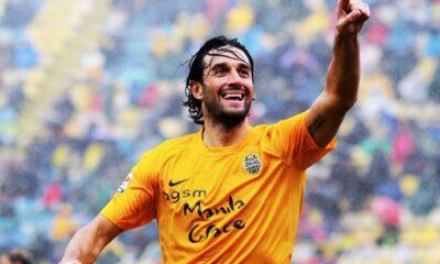 Luca Toni, ancora decisivo per il suo Verona