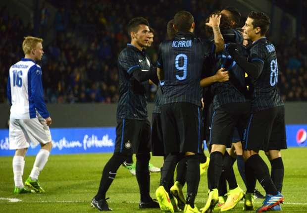 Inizia l'Europa League dell'Inter.
