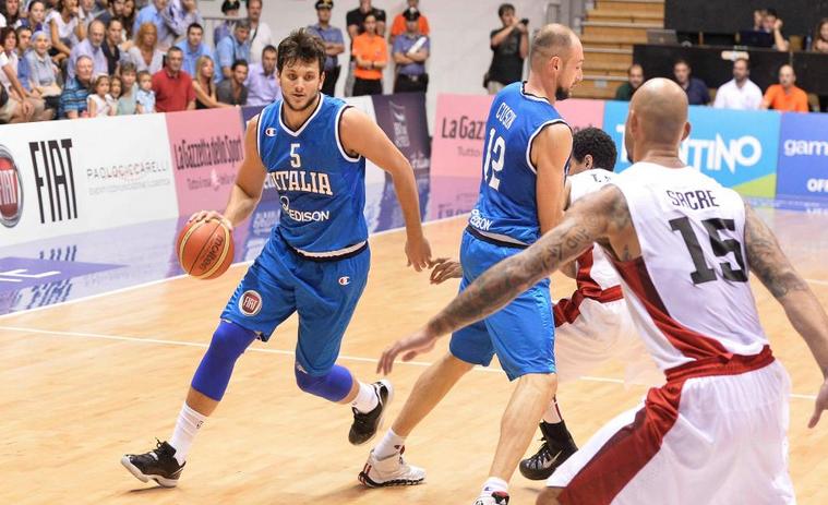 L'Italbasket parte bene a Trieste: Canada ko