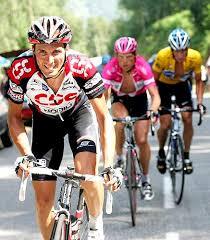 Ivan Basso ai tempi della Csc