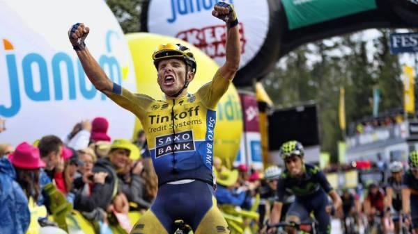 Majka, vincitore di due tappe al Giro di Polonia 2014