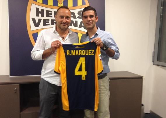 Rafa Marquez, nuovo difensore dell'Hellas Verona