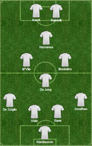 L'11 ideale delle due squadre milanesi