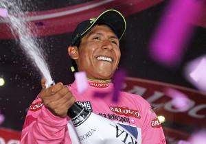 Nairo Quintana, il vincitore del Giro d'Italia 2014