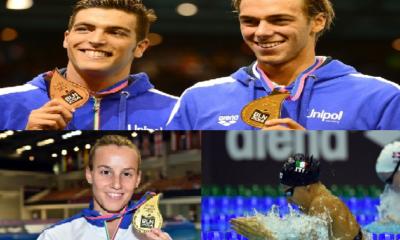 Le medaglie azzurre 20 agosto Europei Berlino