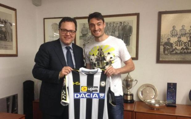 Riera nuovo giocatore dell'Udinese