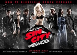 Sin city 3D: La locandina del film in uscita nelle sale a ottobre
