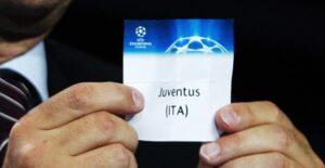 Juventus sorteggio champions league