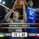 ucraina-dominicana 72-62, Mondiali Fiba
