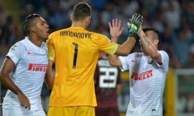 La difesa dell'Inter è sempre più imbattibile.