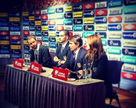 Conte parla in conferenza alla vigilia del match contro la Norvegia