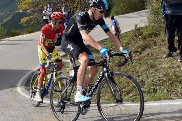 Alberto Contador e Chris Froome: due stili a confronto