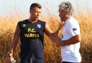 Donadoni e Cassano, tecnico e giocatore più talentuoso del Parma