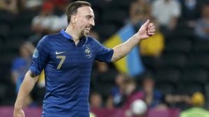 Franck Ribery, ex stella della nazionale francese