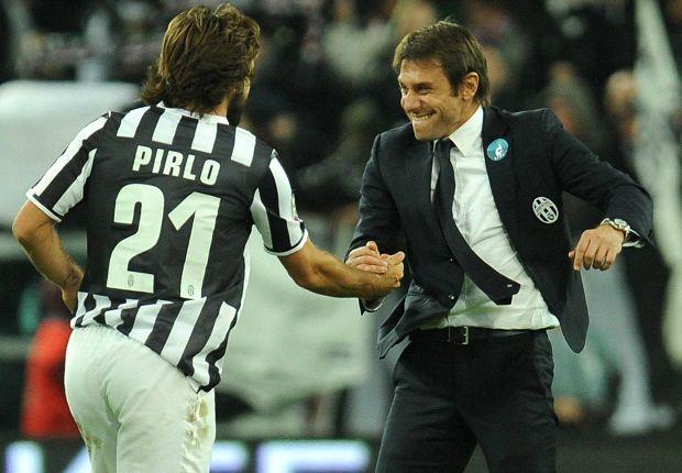 Antonio Conte ed Andrea Pirlo, un binomio vincente