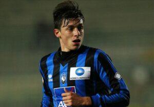Baselli, centrocampista dell'Atalanta.